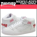 Slasher THRASHER BUCHANAN DOG sneakers Buchanan dog leather men gap Dis unisex white TSBDL-140WRL [4/18 Shinnyu load] [regular]★★
