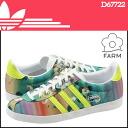 Adidas originals adidas Originals×THE FARM COMPANY women's GAZZELLE OG WC FARM W sneakers Gazelle OG WC farm canvas collaboration 2014, new D67722 multimedia [7 / 11 new stock] [regular] ★ ★