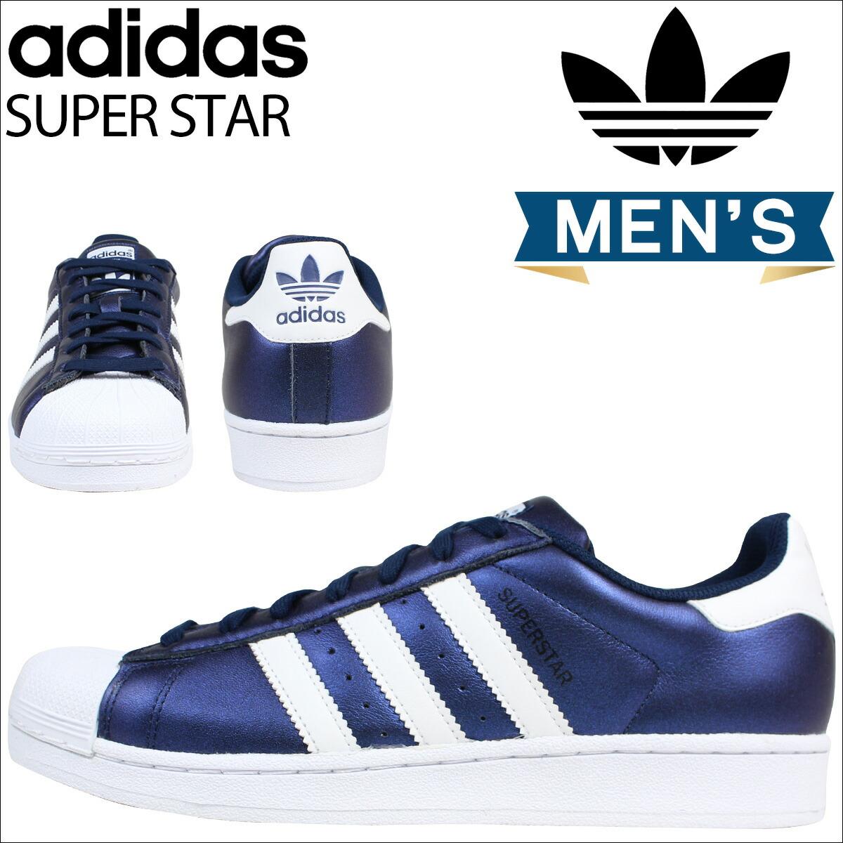 adidas originals star mens Blue