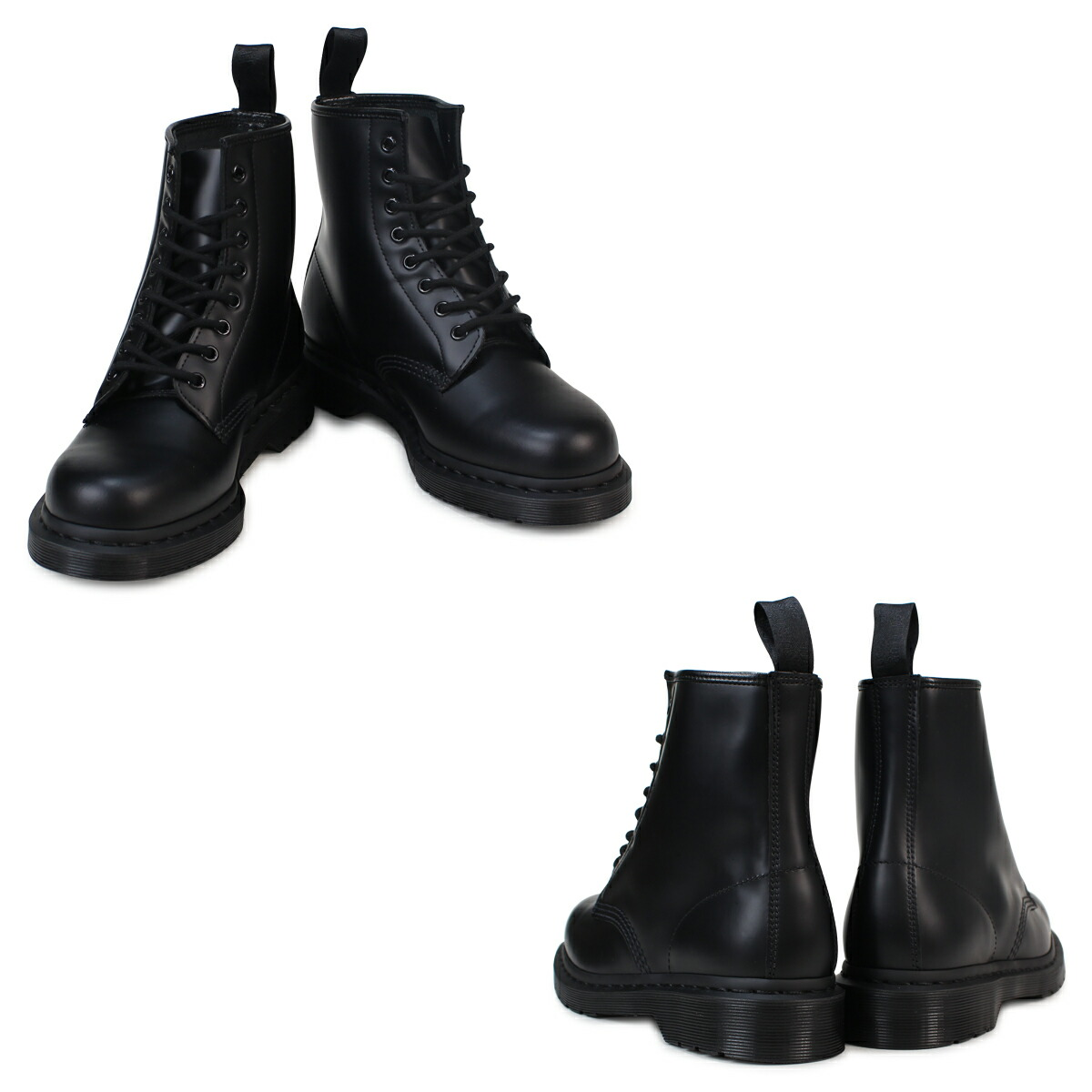 market point 2 x dr martens dr martens 1460 mono 8 hole boots 1460. Black Bedroom Furniture Sets. Home Design Ideas