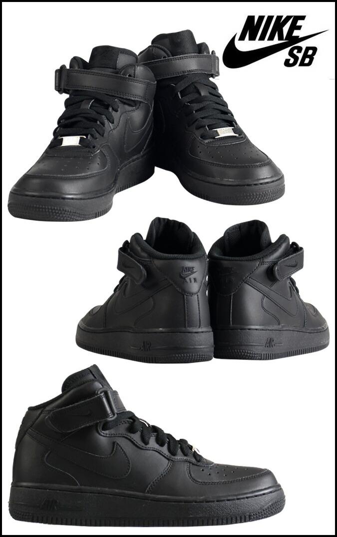 Nike Air Force 1 Black Womens