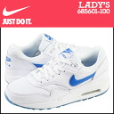 «Reservation products» «3 / 13 when I will be in stock» Nike NIKE women's AIR MAX 1 GLOW GS sneakers Air Max 1 glow girls leather kids ' Junior kids GIRLS 685601-100 WHITE / PHOTO BLUE white [3 / 13 new stock] [regular] ★ ★