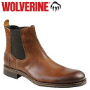 Wolverine WOLVERINE Montague 1000 mile Chelsea boots MONTAGUE 1000 MILE CHELSEA BOOT D wise leather mens Couleur W00922 Tan [11 / 14 new stock] [regular] ★ ★