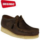 Clarks originals Clarks ORIGINALS Wallaby 37989 WALLABE leather crepe sole mens BEESWAX LEATHER