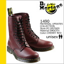 Dr. Martens Dr.Martens 10 hole boot R11857600 1490 10HOLE BOOT leather mens Womens 1490 10EYE BOOT