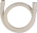 Washing machine connection parts, washer hose drain extension (1 m)
