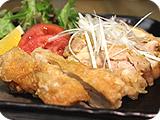 揚げ鶏ねぎソース