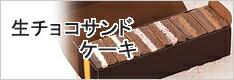 生チョコサンドケーキ