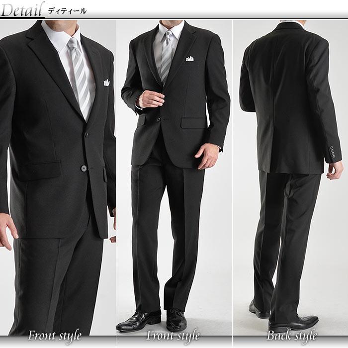 EMPEROR'S BLACK/4ツ釦1ツ掛けフォーマルダブルスーツ