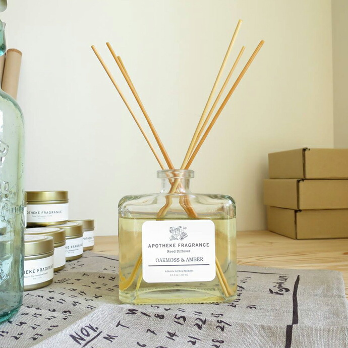APOTHEKE FRAGRANCE / REED DIFFUSER
