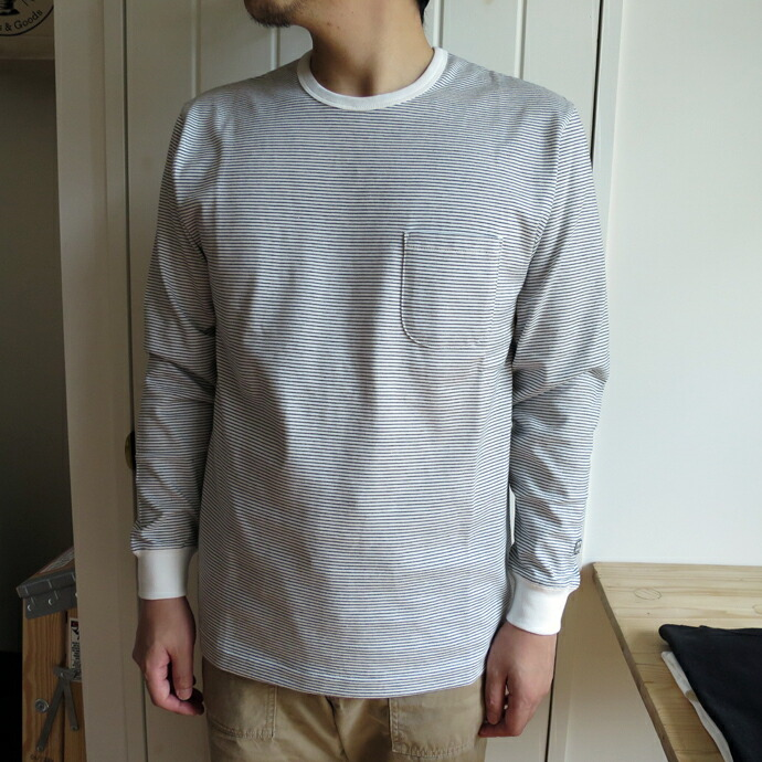 ENDS and MEANS Long Sleeve Pocket Tee ������ɥߡ���  ������T�����