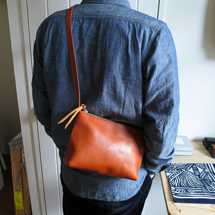 ENDS and MEANS Leather Pouch
