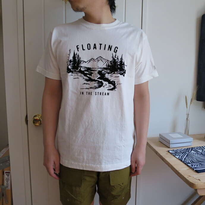 ENDS and MEANS  Floating Tee ������ɥߡ��� �ե?�ƥ��� T�����