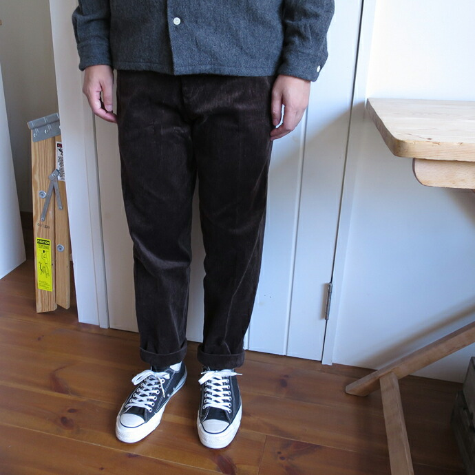 ENDS and MEANS / Grandpa Cord Trouser