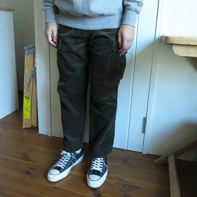 ENDS and MEANS Cord Fatigue Pants