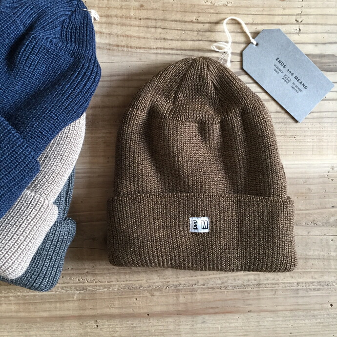 ENDS and MEANS / Wool Watch Cap