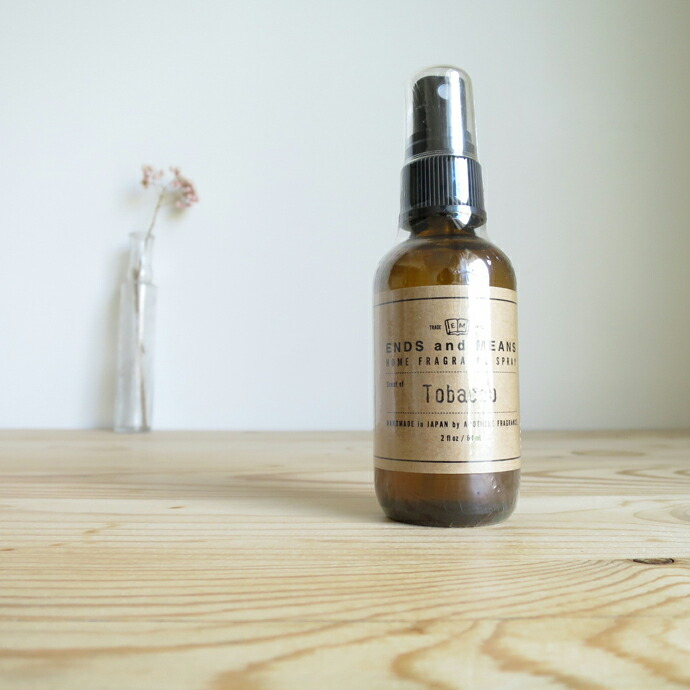 ENDS and MEANS × APOTHEKE FRGARANCE Room Spray