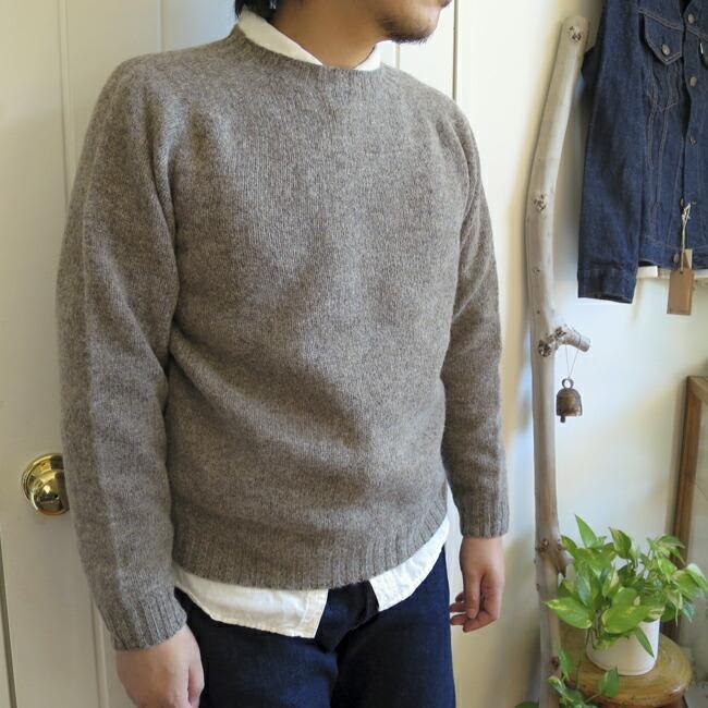 Harley of Scotland Crew Neck Sweater