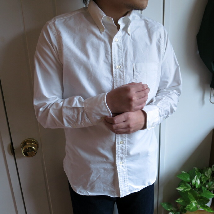 INDIVIDUALIZED SHIRTS インディビジュアライズド シャツ B.D.Shirt Standard Fit / Cambridge Oxford