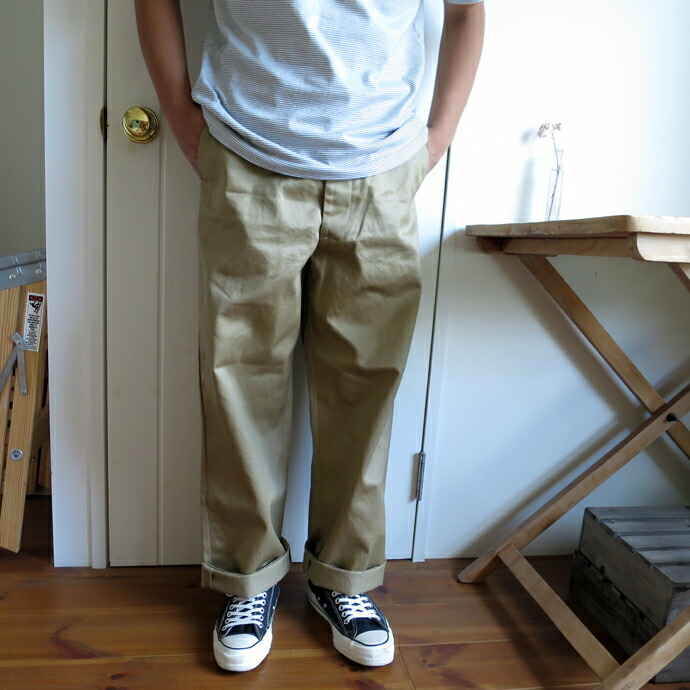 orslow / VINTAGE FIT ARMY TROUSER