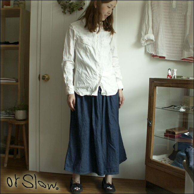 orslow �������?  ��LADY'S�� GATHER SKIRT ���㥶����������