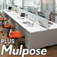 PLUS (プラス) フリーアドレスデスク        Mulpose (マルポス)