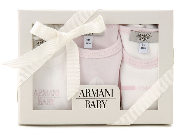 New Trendy Baby Fullmoon Gift Pack : S select rakuten global market armani baby