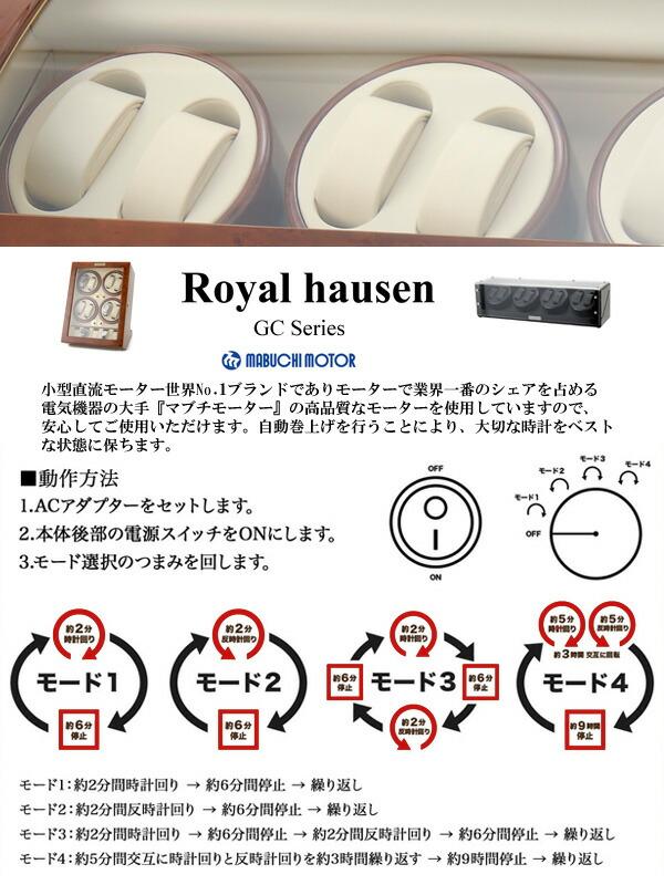 (Royal hausen)ロイヤルハウゼン・ワインダー仕様
