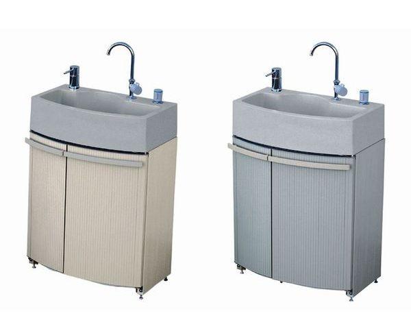 ガーデンドレッサー GDT−3BEZ/GDT−3GRZ(混合栓ユニット寒冷地仕様/ベージュ/グレー)