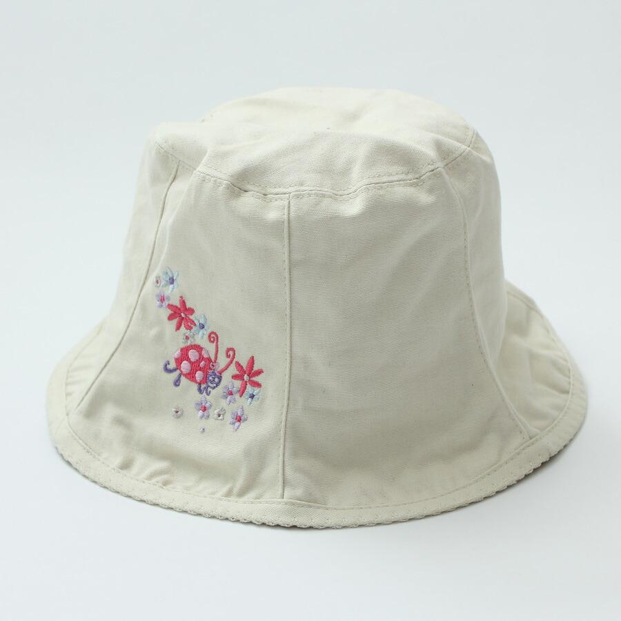 帽子 キッズ ハット 子供 リバーシブル 女の子 ポニーテール UV UVカット