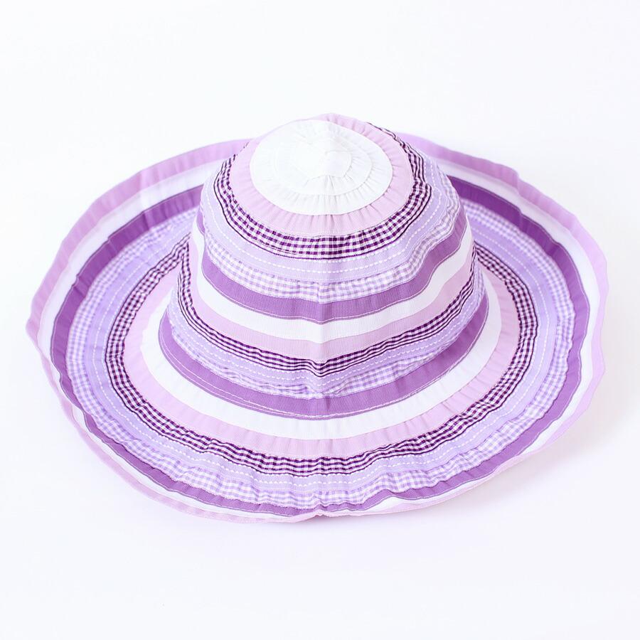 帽子 キッズ ハット 子供 女の子 UV UVカット