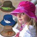 UV 컷 모자 (어린이)-어린이 모자-와이드 통 아 아 KIDS 신사-동물 ※ 자외선 컷 (UV 컷) 최대값 UPF50 + fs3gm