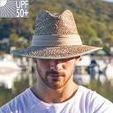 sun hat mens hat twisted seagrass fedora upf50