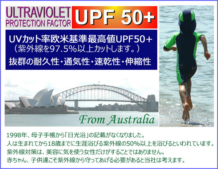 紫外線カット率(UVカット率)最高値UPF50+