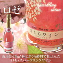 spring including the finding employment celebration came ☆ cherry tree wine sparkling 2012 (rose)【 woman with 】fs2gm