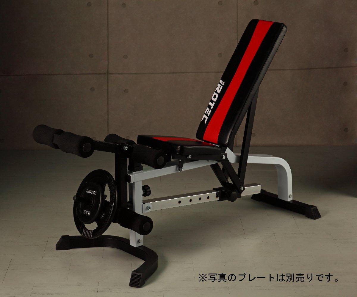 IROTEC 筋トレ インクラインベンチ マルチベンチ マルチポジションベンチ トレーニング器具 ベンチプレス ダンベル バーベル