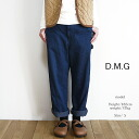 10% off coupon & point up to 29 x 11 / 5 (SAT) to Domingo 13-808D denimwideworkpants women's D.M.G DMG.