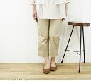 Johnbull (John Bull) アンクルトラウザーツイル stretch pants, AP087 ( Ladys ) jumble z Womens