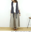 11 / 18 14: From slone square スロンスクエア French linen best-8601 ladies