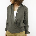 Nicholson and nicholson ニコルソンアンドニコ Wilson linen 2-WAY t-shirt-NN-13SS-B-27 ladies up to 1 / 28