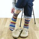 GRANGE CRAFT Grange craft fair Isle knit socks socks Ireland-ladies
