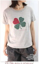 July 27, 2010 u.m.i コホラ short sleeve clover T shirt Womens,
