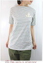 fesney フェスネイ u.m.i コホラ short sleeve boat neck border T shirt Womens