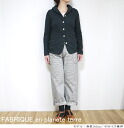 It is 41085 FABRIQUE en planete terre ファブリケアンプラネテール Hickory work pants hickory work pants Lady's to 3/14