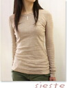 11 / 25 From the chest Aegean Sea cotton f rice l/s shirt women