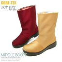 TOPDRY Gore-Tex top dry women's short boots rain boot length shoe GORE-TEX TDY3800