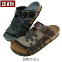 EDWIN Edwin men comfort sandals EW9163