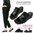 Thick Office sandal heel LUCIANO VALENTINO 6451 women nurse shoes