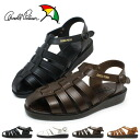 Arnold Palmer backhand leather mens leather Sandals AP6611