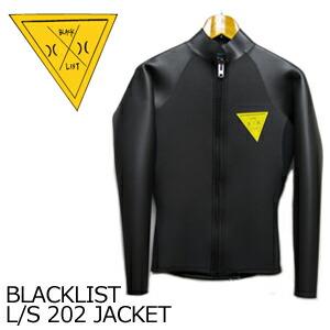 HurleyBLACKLISTハーレーブラックリストウェットスーツタッパー長袖●BLACKLISTL/S202JACKET